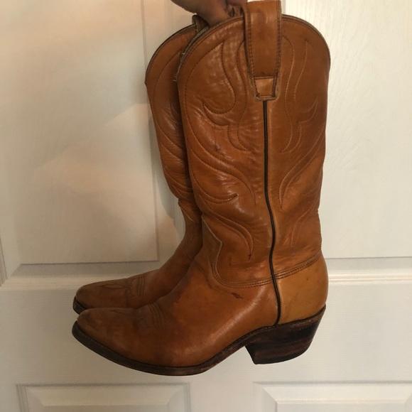 968d01c9907 Justin vintage cowboy boots 6.5